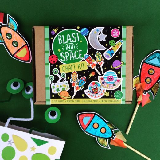 The Amazing Craft Company_Blast Into Space_Box_Craft