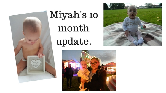 Miyah's 10 month update.