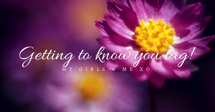 Getting to know you tag!